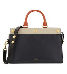 MULBERRY Chester Tri-Colour Leather Tote. #mulberry #bags #shoulder bags #hand bags #leather #tote #