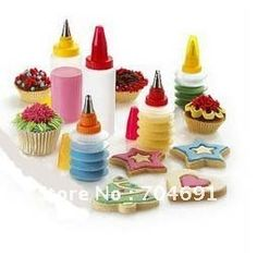 New Fashion Icing Piping Nozzles Cake Cupcake Decorating Pastry