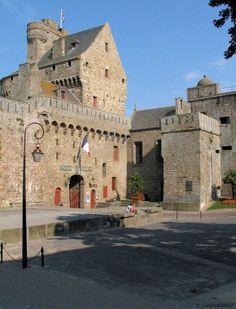 Chateau de Saint Malo, Saint-Malo, France