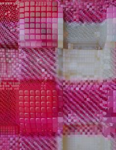 Textile Nano Sculptures   Zeitguised inspiration
