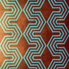 """new HEXOLOGY pattern, 2014 introduction 8"""" x 8"""" cement tile"""