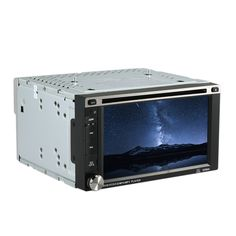 The 2 Din Universal #CarDVDPlayer with 6.2 inch touch display. It supports FM, DVD, SD / USB. Bluetooth function is the best device for your car entertainment. http://www.tomtop.cc/R3Ifmm