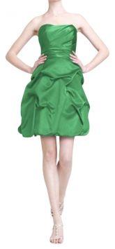 David's Bridal Kelly Green Strapless Dress $67 on Tradesy. Free S :)