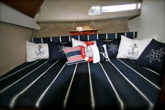 love to update the boat interior to something similiar to this!