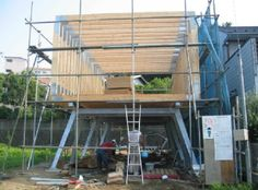Aero House construction, courtesy of http://www.structured-environment.com