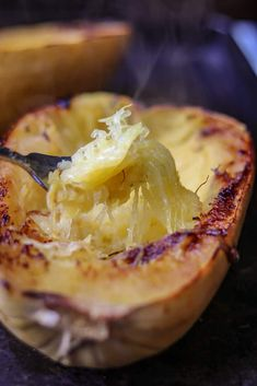 How to Cook Spaghetti Squash Boats - Savory Thoughts Diabetic Recipes, Meat Recipes, Cooking Recipes, Food Dishes, Main Dishes, Spaghetti Squash Boat, Squash Boats, My Best Recipe, Recipes