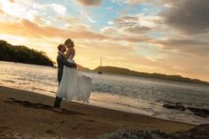 Choose one of the outdoor venues for a memorable wedding on Secrets Papagayo's beautiful beach.