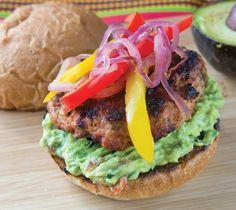 #GlutenFree Mexican Chicken Burgers #Recipe