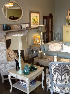 South of France Furniture Studio in Cary… a place full of fantastic finds for your home.