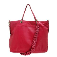 Lulu Satchel in Red.