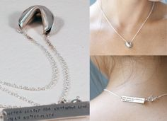 This (customized!) fortune cookie necklace would be a cute gift