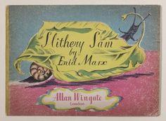 "Enid Marx Book Illustrations ""Slithery Sam"" 1947"