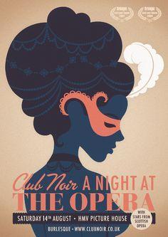 Poster Art – Club Noir