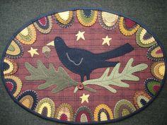 blackbird Redware rug