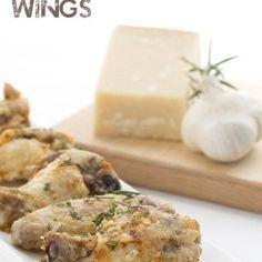 Crispy Garlic Parmesan Wings – VIDEO