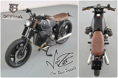 Check out this BMW R80 from Sinroja Motorcycles! (Built with a VonZeti Seat, Subframe, Airbox, and Monza Flip Cap!) We're proud to hear this bike came second place in Kickback's Young Generation Biker Build off. Incredible when you consider this is only their first build! :) Superb job, guys!!