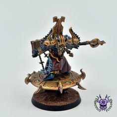 Thousand sons (Tzeentch) - Exalted Sorcerer #ChaoticColors #commissionpainting #paintingcommission #painting #miniatures #paintingminiatures #wargaming #Miniaturepainting #Tabletopgames #Wargaming #Scalemodel #Miniatures #art #creative #photooftheday #hobby #paintingwarhammer #Warhammerpainting #warhammer #wh #gamesworkshop #gw #Warhammer40k #Warhammer40000 #Wh40k #40K #chaos #warhammerchaos #warhammer40k #tzeentch #thousandsons #ExaltedSorcerer Thousand Sons, Warhammer 40k Miniatures, Warhammer 40000, Tabletop Games, Gw, Marines, Fantasy, Space, Creative