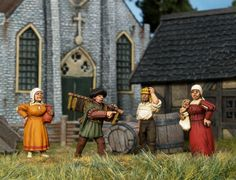 Empress Miniatures - Civilians