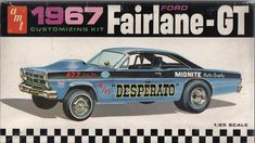 1/25 AMT 1967 Ford Fairlane-GT