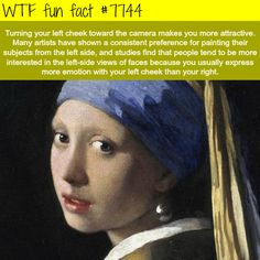 How to look better in pictures - WTF fun facts