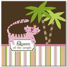 Queen of the Jungle Baby Shower Theme