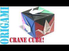 ▶ Peace Crane Cube (3D Modular Hexahedron): Daily Origami - 463 [TCGames HD] - YouTube