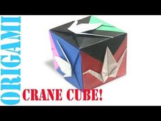 In this tutorial, I will show you how to make an origami  Peace Crane Cube.       Designed By: Fumiaki Shingu    Tips: Take care of your folds at the beginning, and the rest should be fairly easy if you follow the tutorial exactly. Making careful folds, and making sure everything is properly aligned will allow you to get best results for the final product. This rule is something that should probably be kept in mind when making any origami model. Have fun!    Happy folding !