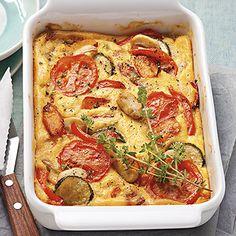 Gemüseauflauf mit Polenta Rezept | Küchengötter