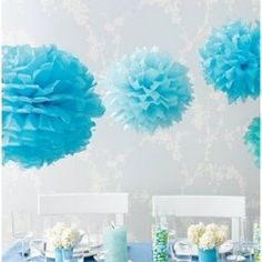 This DIY project is extremely simple and they make a beautiful decor addition to any event.