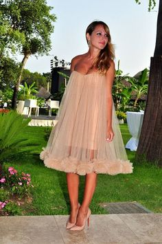 I love the shoes, and the chiffon itself is really pretty, totally femme look.