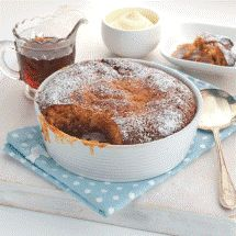 Self-Saucing Ginger Toffee Pudding