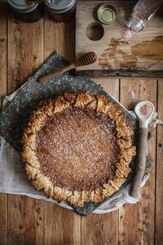 Salted Rose & Honey Pie // Adventures in Cooking