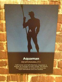 Aquaman - Responsibility