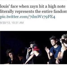 I make the same face that Louis is making EVERY TIME Zayn hits a high note :P