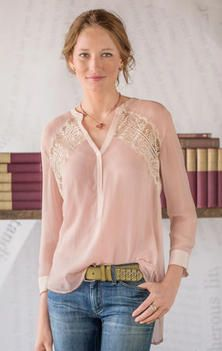 Peach Sorbet tunic, sundance. If I was fabulously wealthy I'd shop here almost exclusively. My style, but not my budget!