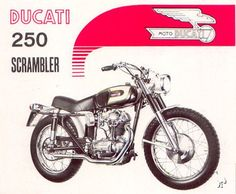 1966 Ducati Scrambler. My first bike. Turned it into a street bike. Had the head done, changed the gearing and added drop-bars and a megaphone. Great little bike. And what a sound.