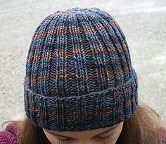 Great hat pattern. Simple and useful (part of a project to make knit hats for the IDF (Israeli Defense Force).