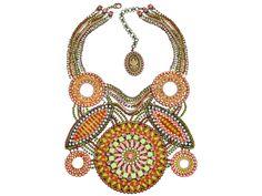 Paisley African Kollektion Halskette Collier in Pastell Multi No. 5450527978323 by KONPLOTT Miranda Konstantinidou