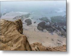 """Fog Paradise"" California landscape photography on metal print by Valerie Rosen Photography"