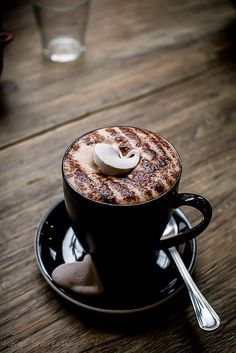 morning latte | #coffee #latte