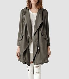 Fall is upon us! Love the oversized coats this year!