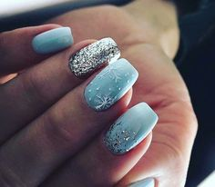 Christmas Nails - Top 21 Amazing Inspiration for Christmas Manicure Dream Nails, Love Nails, How To Do Nails, Fun Nails, Christmas Gel Nails, Holiday Nails, Gorgeous Nails, Pretty Nails, Nagel Gel