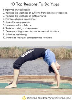 10 Top Reasons To Do Yoga