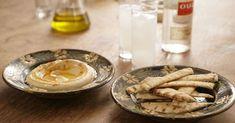 Forget the ouzo, this makes the smoothest hummus. Maybe you'd not do this if you're a rush, but for a special event or if you have time it does yield fine results