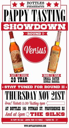 The Ultimate Pappy Bourbon Showdown: ROUND ONE