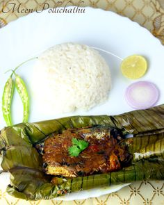 Prawns Fry, Vegetarian Side Dishes, Easy Indian Recipes, Red Chili Powder, Fried Fish, Shallow, Kerala, Onion