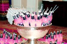 bachlorette party or the day of the wedding to drink on while getting ready... I would like something a bit stronger but this looks cute!