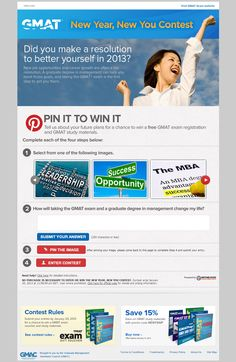 GMAT Scores Big with Pinterest Contest