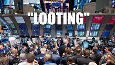 Looting in #Ferguson is NOTHING compared to the future the we are being robbed of by the 1% greedy wealthiest people. Was #Ferguson looting RIGHT, JUSTIFIED, OKAY? hell NO! But if we are gonna talk about looting we should be talking about the WORST