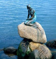 In 2004, the mermaid was swept away by the rising water of the river. Description from pinterest.com. I searched for this on bing.com/images